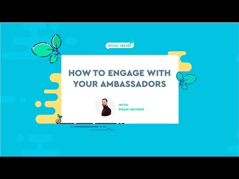 How to Engage With Your Ambassadors