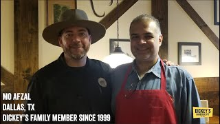 Testimonial Mo Afzal - Owner Testimonial - Dickey's Barbecue Pit