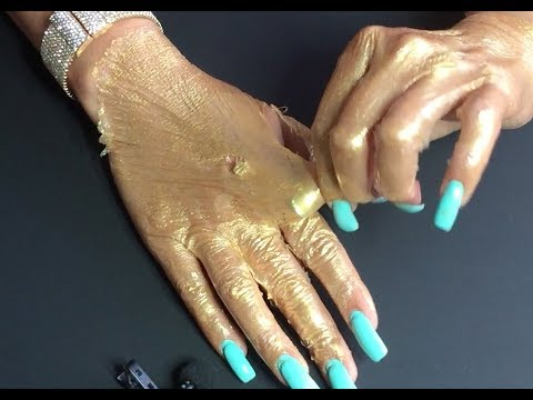 Gold Peel-Off Mask for Hands!!