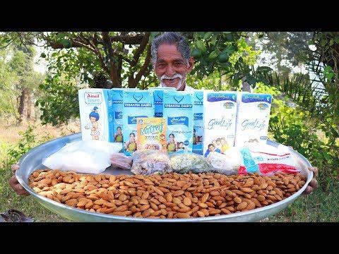 How to make healthy almond milkshake