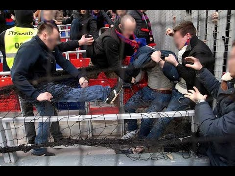 CSKA Moscow - Zenit St Petersburg Trouble in stands during the game