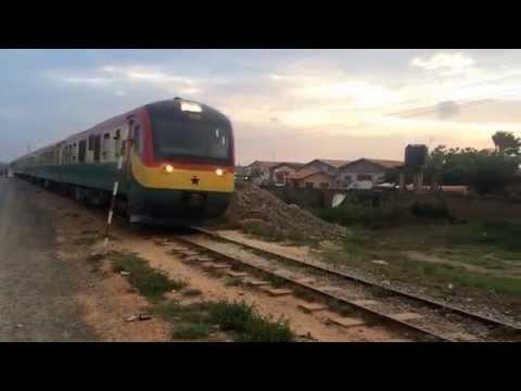Train The Whole Of Ghana (VLOG)