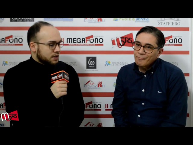 Orta Nova 2019, intervista a Domenico Lasorsa (PartecipiAMOrtanova)