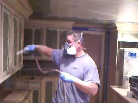 kitchen cabinet refinishing process - boston, ma - 4 of 10 - youtube
