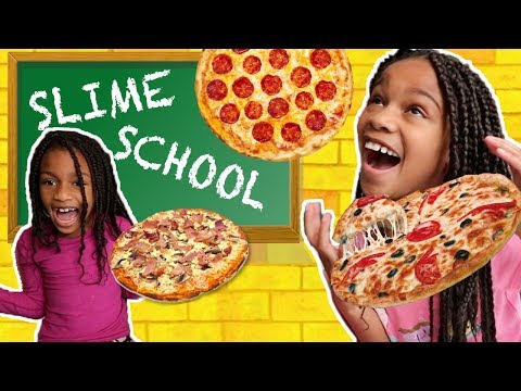 Slime School Test Day! Slime Pizza – New Toy School