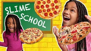 Slime School Test Day! Slime Pizza - New Toy School