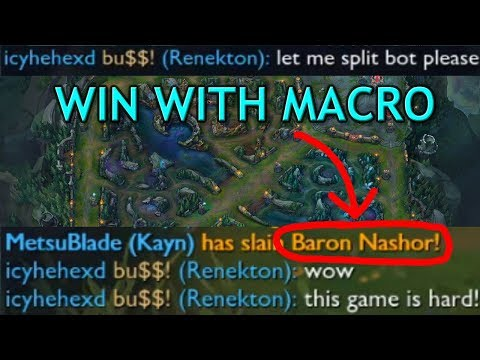 How to Carry with Simple Macro - Top Lane Guide Season 7