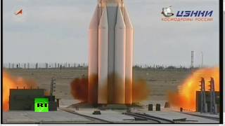 Long-awaited launch: Proton-M with EchoStar XXI lifts off from Baikonur
