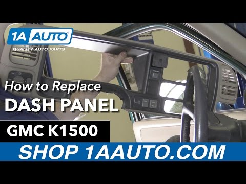 How To Replace Dash Panel 88-98 GMC K1500