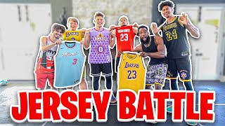 2Hype NBA Jersey Battle! Who Has The Most Basketball Jersey Heat?!