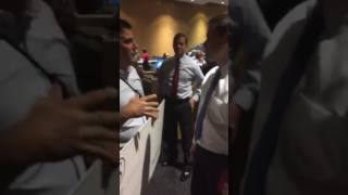 Rubio Confronted by Activist Over Skipping Town Hall in Miami (1)