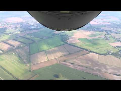 Boom pod takeoff RAF Mildenhall, UK