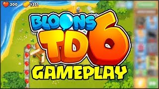 BLOONS TD 6 FIRST EVER ACTUAL GAMEPLAY VIDEO!!! *NOT CLICKBAIT* // Bloons Tower Defense 6