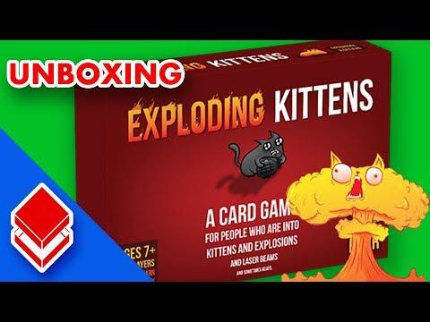 Exploding Kittens - Unboxing ITA: lettera anonima e canale a rischio esplosione!!!