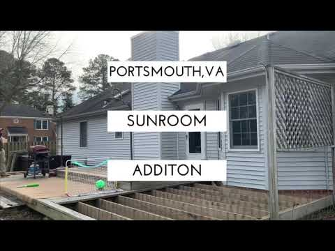 Dream addition Sunroom build