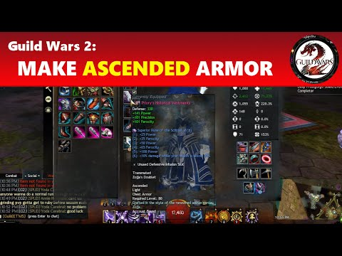 Guild Wars 2: Making Ascended Gear - Armor