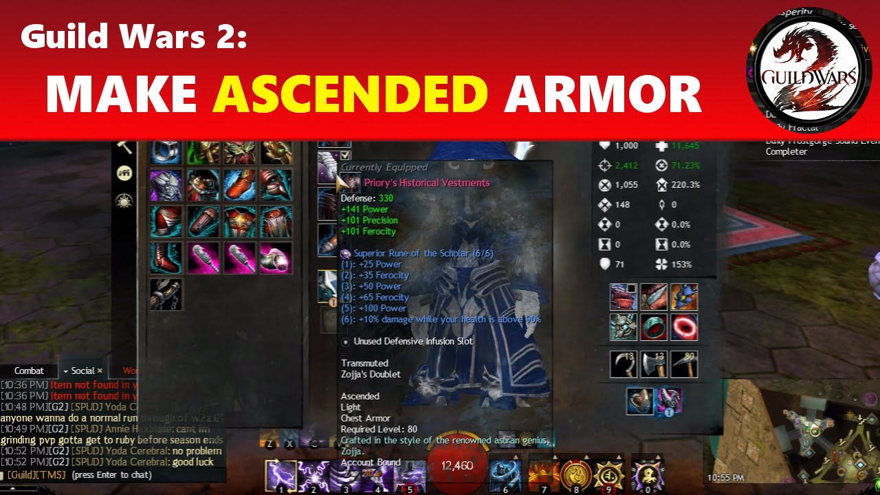 Craft Ascended Gear