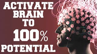 *WARNING*  ACTIVATE BRAIN TO 100% POTENTIAL: ACHIEVE ANYTHING …