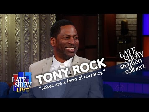 Tony Rock's Favorite Comedian Is His Brother (But Not Chris)