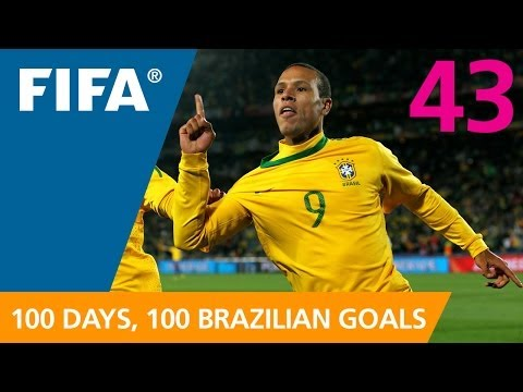 100 Great Brazilian Goals: #43 Luis Fabiano (South Africa 2010)