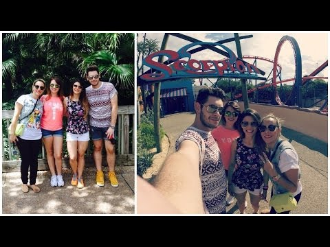 Busch Gardens, Dia Radical - Viagem Luh e Fabi (Dia 9)  - Fabi Santina