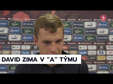 ČR A   David Zima nahradil v reprezentaci parťáka ze Slavie