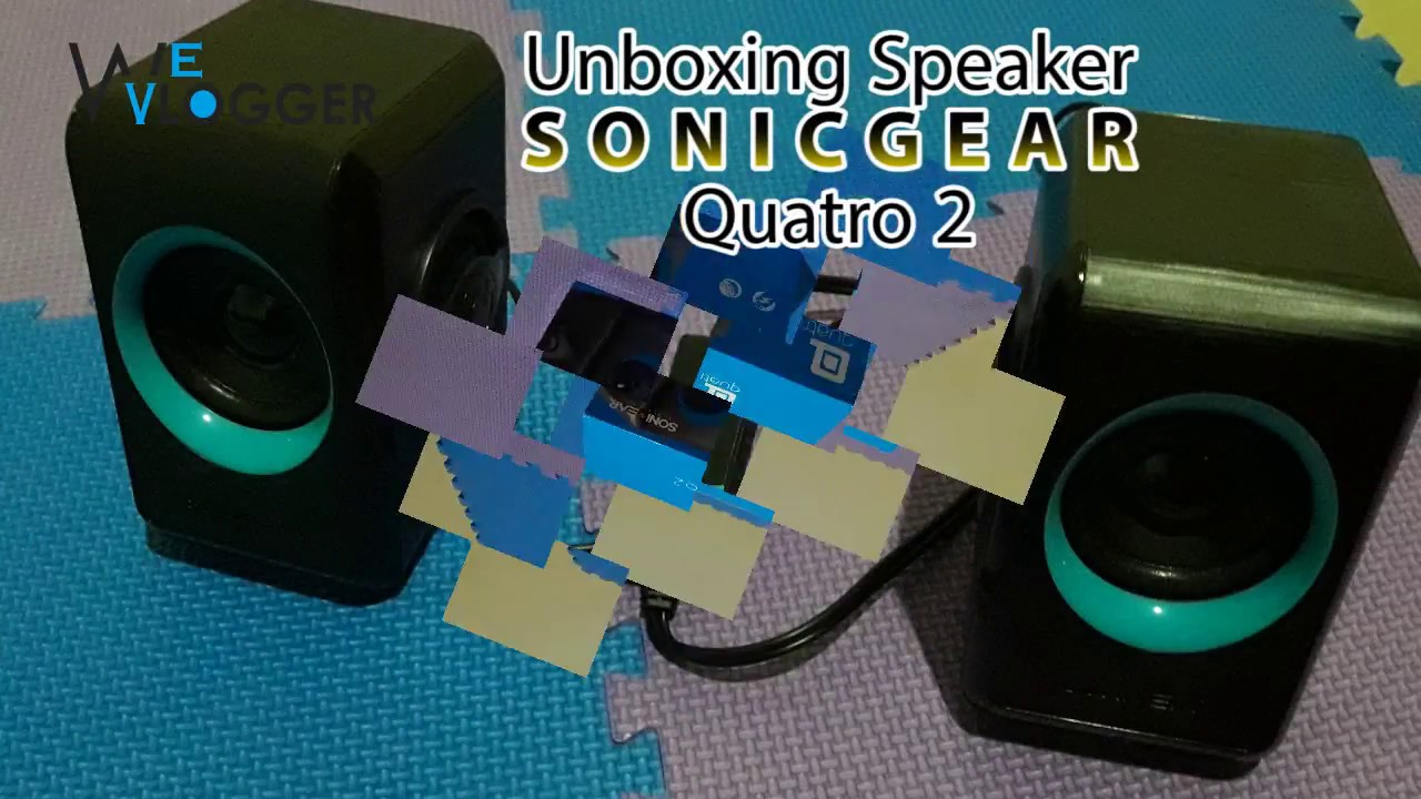 Unboxing Test Sonicgear Quatro 2 Indo Youtube Sonic Gear Speaker