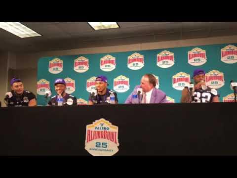 TCU talks Alamo Bowl win 2017