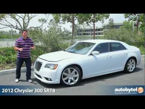 2012 Chrysler 300 SRT8: Video Road Test & Review   Autobytel.com