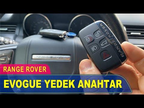 Range Rover Evogue Anahtar Yapımı   Yedek Kopyalama - Oto Anahtarcı İstanbul