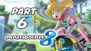 Mario Kart 8 Gameplay Walkthrough Part 6 - Princess Peach STAR CUP Grand Prix 150cc (Wii U Gameplay)