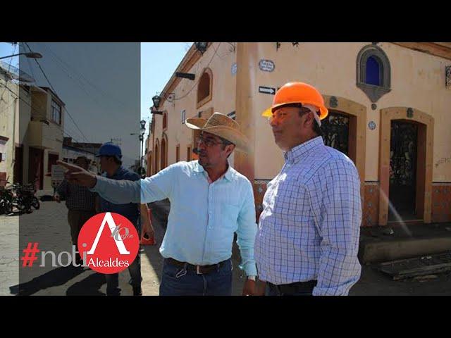 Noti Alcaldes: Inaugura alcalde obras de progreso en Atlixco
