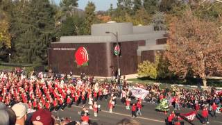 Stanford Marching Band in 2014 Rose Parade