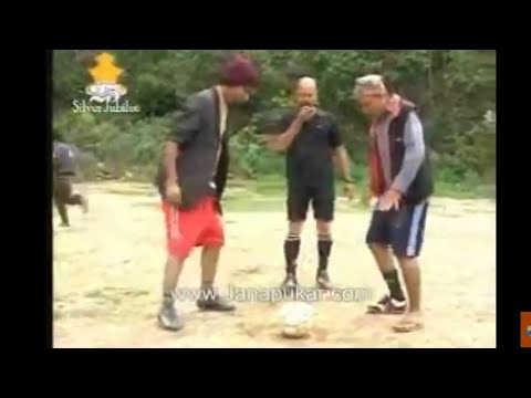 Meri Bassai 2010 Worldcup Special !! Dhurmus And Raju Master Football Match.....