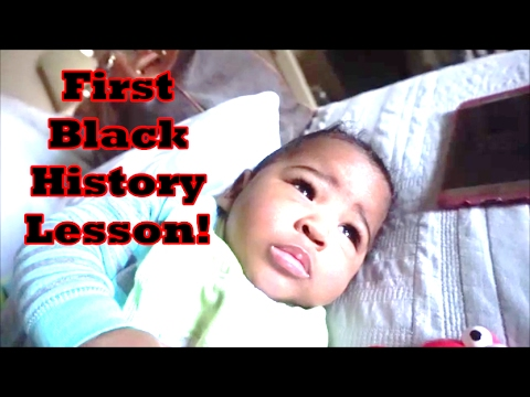 His First Black History Lesson! | February 15 | ❤LifeWithLisa343💋 | Daily Vlogs