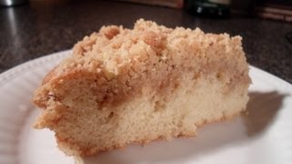 How to make Crumb Cake - Easy Cooking!