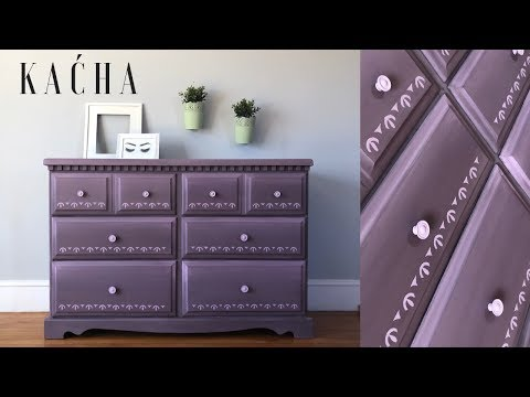 Annie Sloan Chalk Paint Tutorial / Mixing and Blending