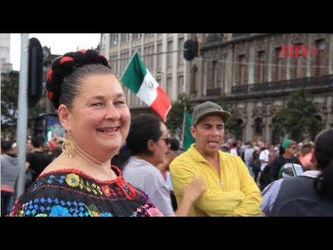 Centro histórico se viste tricolor para la celebración patria