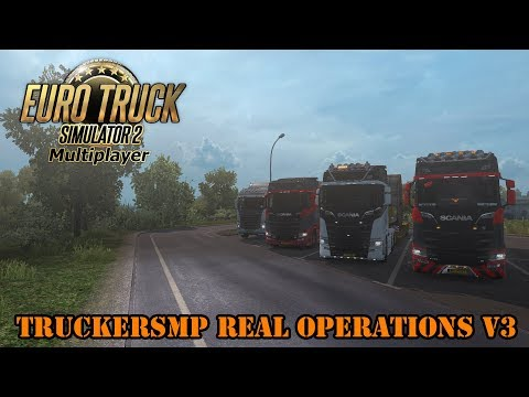 TruckersMP Real Operations V3 l Euro Truck Simulator 2 MP {G29}