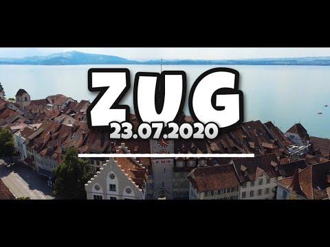 Flight over Zug [23.07.2020]