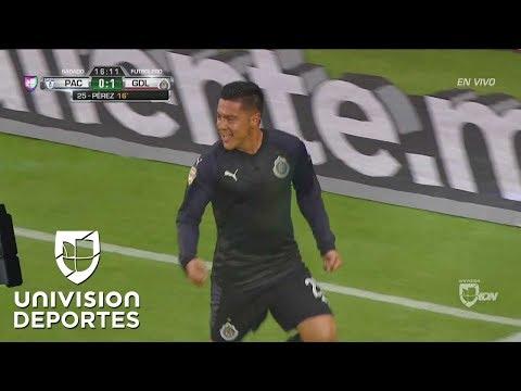 Michael Pérez puso en ventaja al campeón