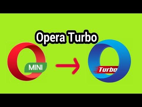 Cara Aktifkan Turbo Opera Mini