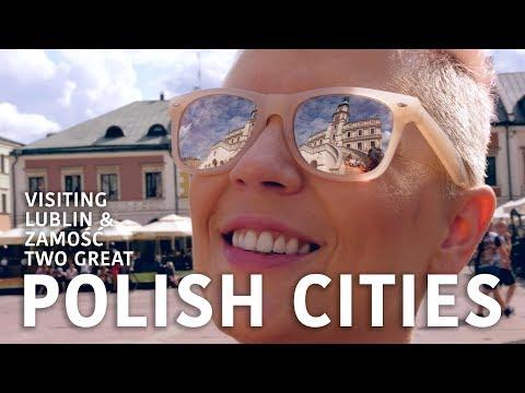 POLSKIE MIASTA: LUBLIN i ZAMOŚĆ / POLISH CITIES: LUBLIN and ZAMOSC
