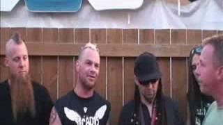 5 finger death punch interview mayhem festival 2008