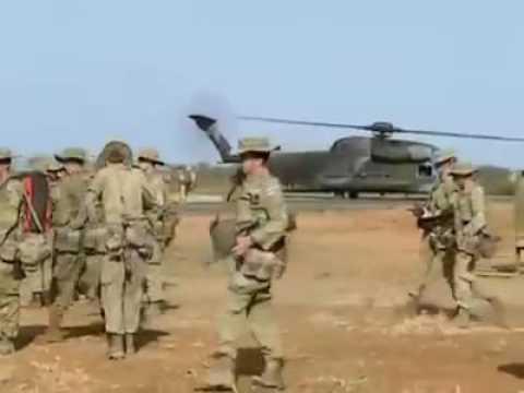 Australian troop in baidoa 1992 south west somalia-ciidanka australianka oo baydhabo jooga