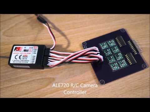 ALE720 R/C Controller for multiple LANC cameras