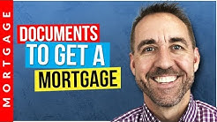 Documents Needed for Mortgage Pre-Approval