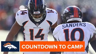 WR corps led by Emmanuel Sanders & Courtland Sutton full of potential