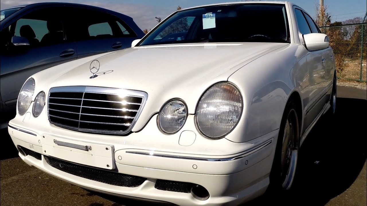 2002 mercedes benz e55 amg 12k lhd japan car auctions. Black Bedroom Furniture Sets. Home Design Ideas