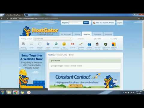 How to Set Up Hostgator Email 2017 for Domain